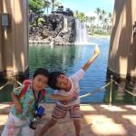 家族5人のハワイ旅行