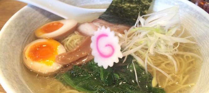 【ラーメン】泉岳寺「ラーメン 徳」