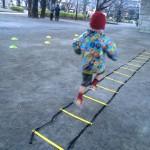 子ども向けの朝運動スクール、開始から1週間が経ちました!