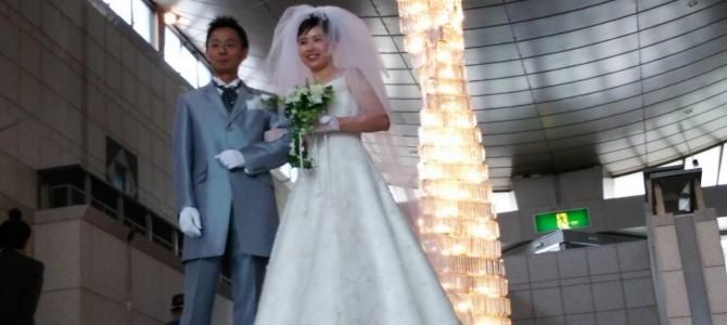 結婚10年目…結婚式を挙げました!