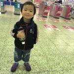 初めての二人旅!三男(3歳)との大阪出張