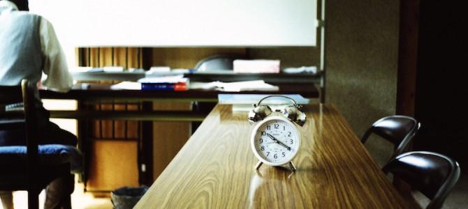"""事例で考える""""時間意識""""の大切さ"""