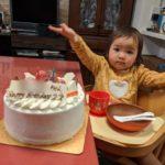 """令和2年2月2日、娘2歳の""""ぞろ目""""バースディ!"""